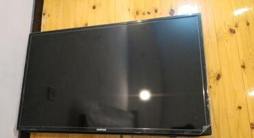 105 ekran full hd samsung led tv kranstain ve qabag stolu ile birlik