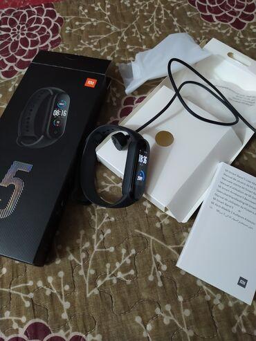 электронные термометры в Кыргызстан: Продам новый Mi band 5 global! Совсем не пользовался, батарея держит 2
