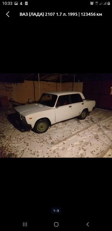 ВАЗ (ЛАДА) 2107 1.7 л. 1995 | 123456 км