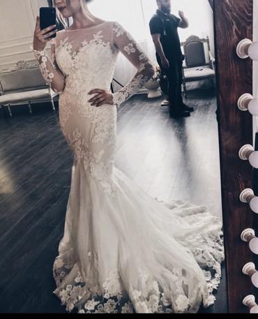snikersy 36 razmer в Кыргызстан: Продаю свадебное платье dominiss, размер 36-38,после хим.чисти в идеал
