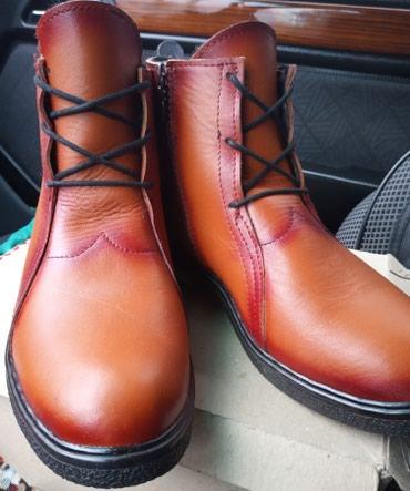 Продаю женские зимние ботинки из натуральной кожи. Размер 39 в Бишкек