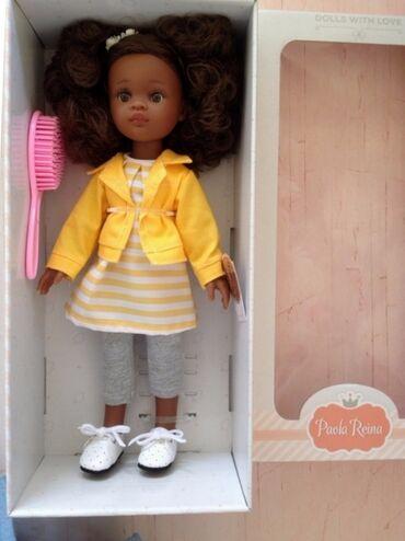 платье футляр на выпускной в Кыргызстан: Кукла Paola Reina Паола Рейна,Нора, оригинал, Испания, 32 см, глаза