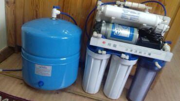 фильтров для воды в Кыргызстан: Фильтр для воды, 5 ступенчатая очистка воды, с обратным осмоном