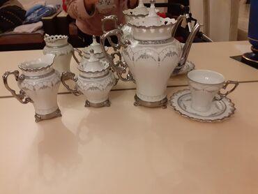 servizi - Azərbaycan: Çay servizi,tezedir,içinde predmetleri var