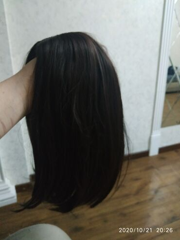Продаю парик, цвет шоколадныйКак натуральный выглядитПарик каре