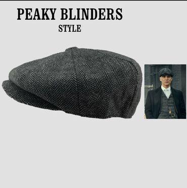 Muški kačket kapa kao Peaky Blinders stil obim 58-60cm NOVOUživo