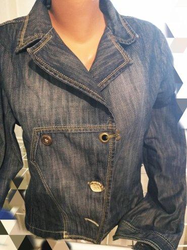 детская джинсовая куртка в Кыргызстан: Турция куртка джинсовая,р 46 состояние новой вещи