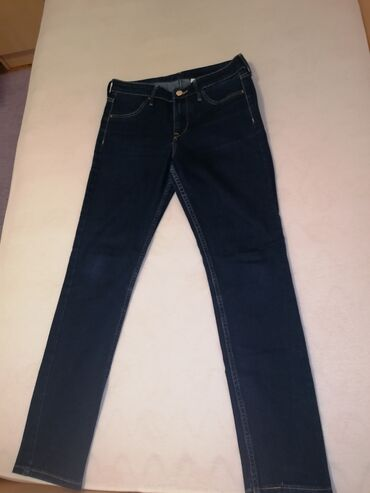 10102 oglasa | ŽENSKA ODEĆA: Farmerke iz H&M, teget, regular waist