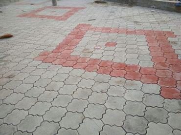укладка брусчатки и бордюры в Кыргызстан: Укладка брусчатки, лотки, бордюры, стяжка и др