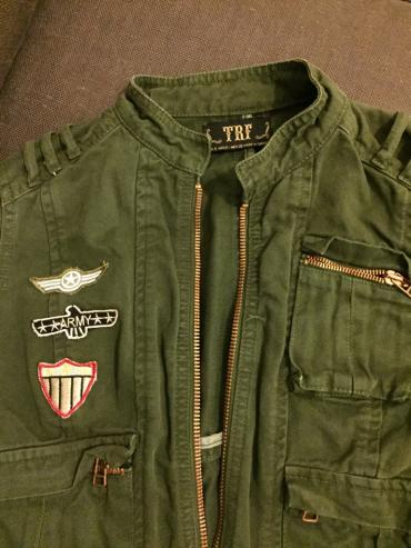 Zara women's short army jacket with decoration. New . Never worn . σε North & East Suburbs