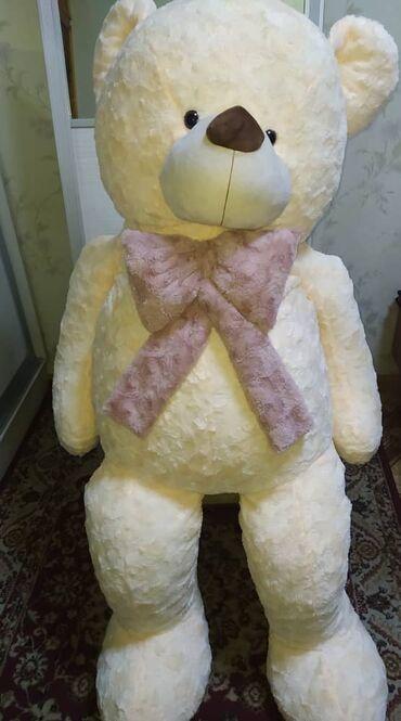 Плюшевый мишка 180 см. С упаковкой, новый