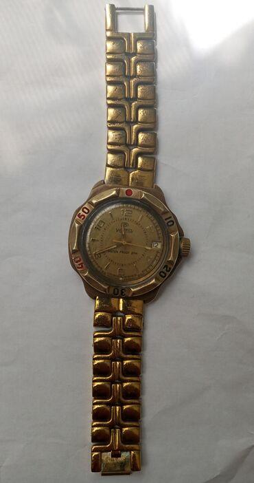 sovet saat - Azərbaycan: Qızılı Kişi Qol saatları Vostok