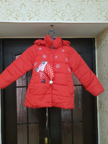 детская куртка для девочки 5 6 лет в Кыргызстан: Куртка на 5-6 лет новая