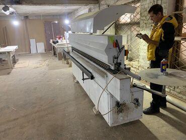 оборудование для производства перчаток в Кыргызстан: Продаётся кромачный станок! Производство италия состояние отличное, в