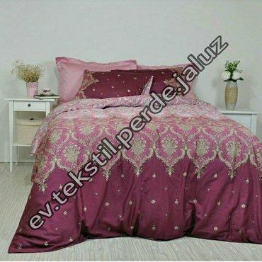 Bakı şəhərində Keyfiyyətli yataq dəsti.Təmiz pambıqdı rengi solmur, tiftiflənmir.Keyf