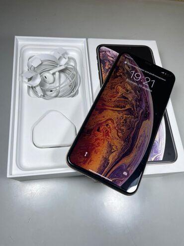 IPhone Xs Max | 256 ГБ | Золотой | Б/У | Беспроводная зарядка, Face ID