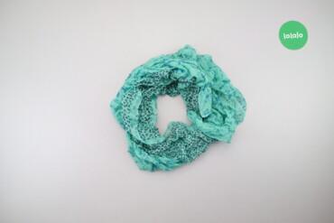 Личные вещи - Украина: Жіночий об'ємний шарф з принтом   Розмір: 150 х 38 см  Стан гарний