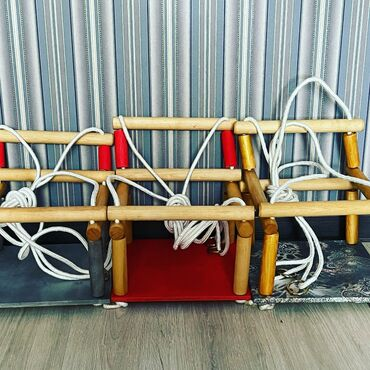 Качели### качественная веревка 2кольца 1шт карабин