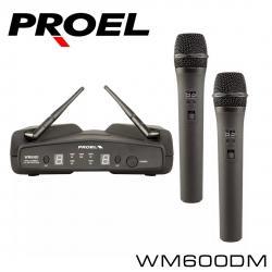 Микрофон PROEL WM600DM двухканальная в Бишкек