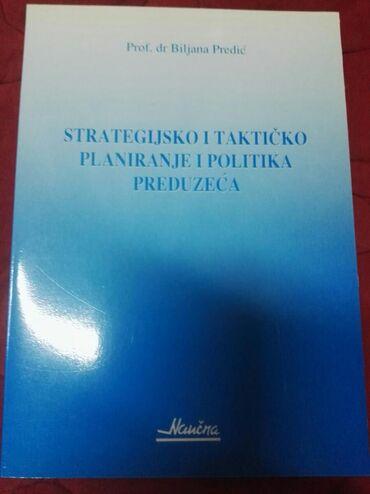Knjige, časopisi, CD i DVD | Mladenovac: Strategijsko i takticko planiranje i politika preduzeca
