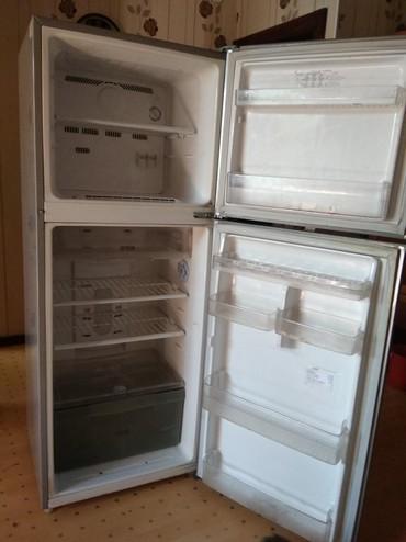Sumsung s2 - Кыргызстан: Б/у Двухкамерный Серый холодильник Samsung