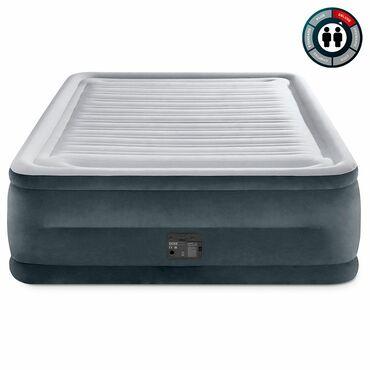 ХарактеристикиДвуспальная надувная кровать 64418 серии Dura Beam