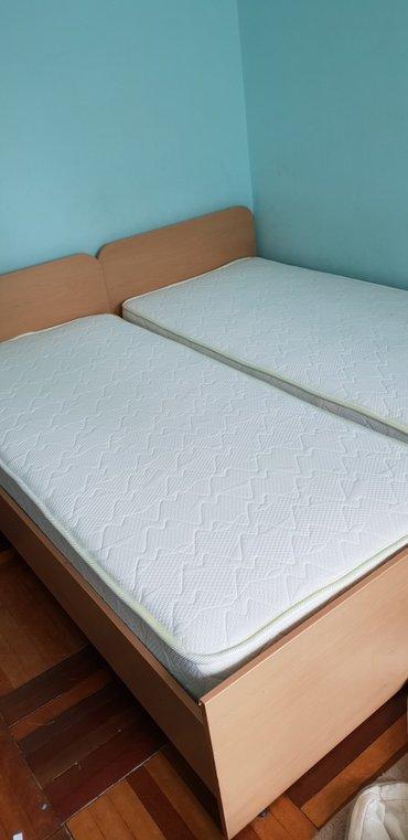 2 кровати С НОВЫМИ МАТРАСАМИ !!! Размер в Бишкек