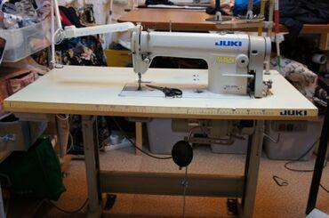 Швейные машины в Душанбе: Продаю швейную машинку, оверлог б/у в отличном состоянии