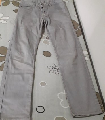 Dečije Farmerke i Pantalone | Obrenovac: Farmerke H&M za dečaka 10-11 gOdlične tanie sive pantalone za