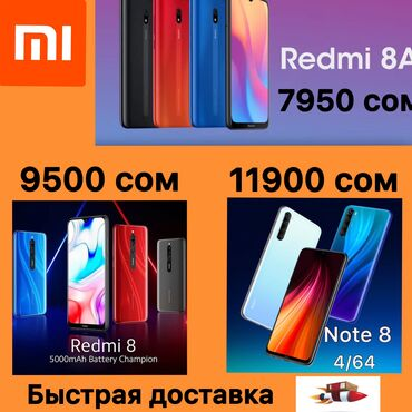 New Xiaomi Redmi Note 8 64 GB black
