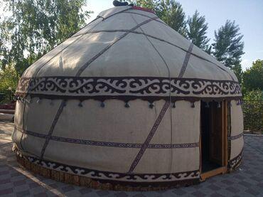 прокат посуды в Кыргызстан: Юрта (Аренда юрты) палатки прокат: боз үйюрты, палатки (с мебелью)