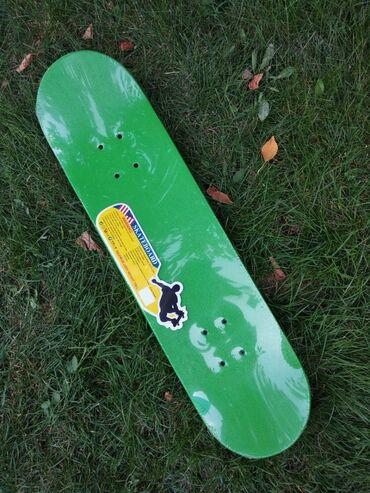 гиря 20 кг в Кыргызстан: Скейтборд отличного качества. Длина: 78 см, ширина: 20 см, выдерживает