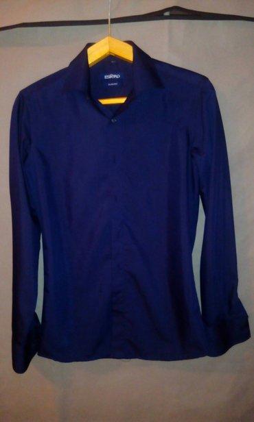 Мужская рубашка, в отличном состоянии, качественная, размер 44 в Бишкек