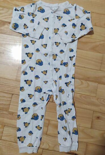 Jeans skinny h - Srbija: HM zeke vel 92, veoma lepo očuvane, 100% pamuk, Cookie Monster. Cena