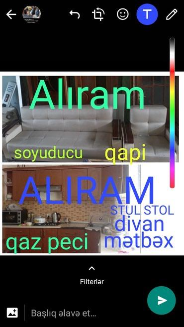 Bakı şəhərində Mətbəx mebeli divan qapi