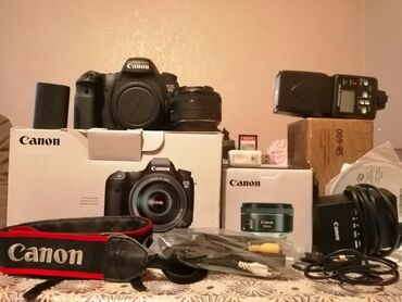 сканер canon canoscan lide 110 в Кыргызстан: Продам профессиональный полно кадровой фотоапарат Canon 6 D без царап