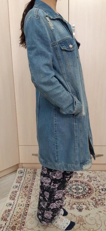 детская джинсовая куртка в Кыргызстан: Настоящая джинсовая куртка очень удобная