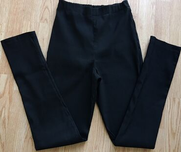 Crne pantalone - Srbija: Crne pantalone/helanke visoki struk, push up, s-m