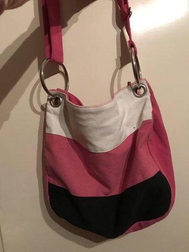 Roze torba, za devojčice, nošena ali lepo očuvana. Za dodatna pitanja