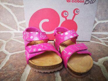 Dečija odeća i obuća | Zrenjanin: Ciciban sandale broj 24 ORIGINAL NOVO