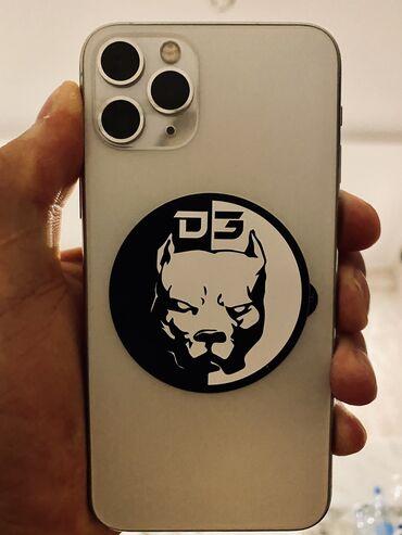 айфон 11 бу цена in Кыргызстан | ЧЕХЛЫ: IPhone 11 Pro | 64 ГБ | Белый Б/У | Гарантия, Беспроводная зарядка, Face ID