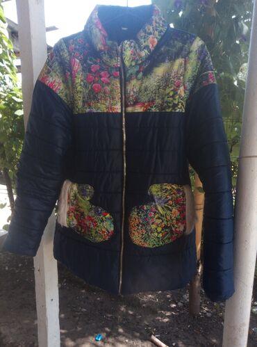 Женская одежда - Маловодное: Куртка зимняя одевала пару раз продаю за 400сом