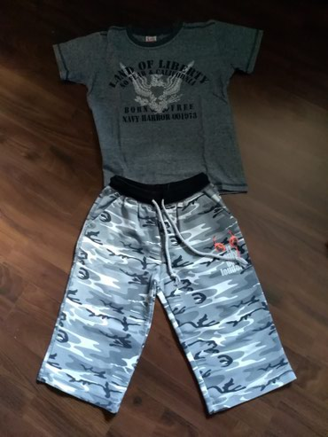 Paket dobro očuvane garderobe za dečaka. Veličina 10. - Ruma - slika 2