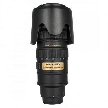 Nikon 70-200mm f/2.8 VR.Никон.V komplekte krishki.Otlichno rabotayet. в Ош