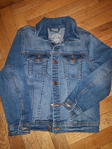Teksas nova decija jaknica rukav 44, 5cm, duzina 46 bez kragne,od