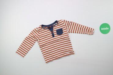 Дитячий реглан у смужку для хлопчика TU, вік 1,5-2 р., зріст 86-92 см