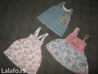 3 vrlo lepe, prijatne i kvalitetne haljinice     - Prokuplje