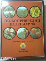 Knjiga-znanje imanje  kalendar poljoprivredni 1984 god. - Nova Pazova