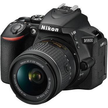 Nikon D5600 18-55mm kitXüsusiyyətləri:Sensor - 24.2MP DX-Format CMOS