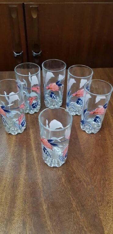 Продаются стеклянные стаканы